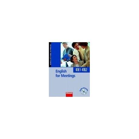 English for Meetings + CD Fraus 9788072386109