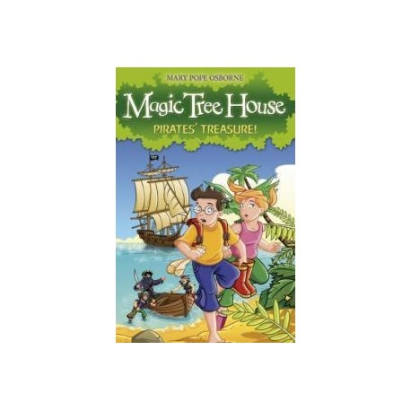 The Magic Tree House 4: Pirates' Treasure! Random House UK 9781862305267