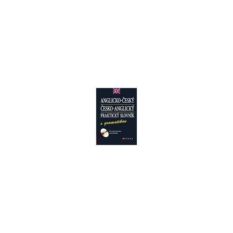 Anglicko-český, Česko-anglický praktický slovník s gramatikou + CD CP Books 9788025123713