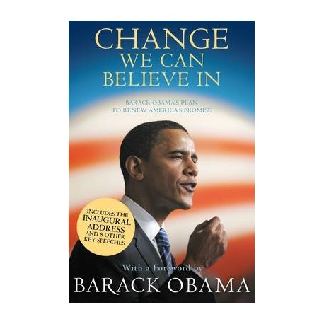 Change We Can Believe In Canongate Books 9781847674890