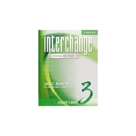 Interchange 3 Third Edition Student's Book Cambridge University Press 9780521602181