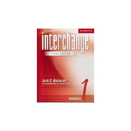 Interchange 1 Third Edition Workbook Cambridge University Press 9780521601771