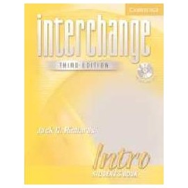 Interchange Intro Third Edition Student's Book + Self-Study CD