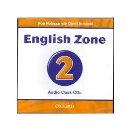 English Zone 2 Class CD