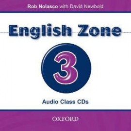 English Zone 3 Class CD