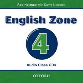 English Zone 4 Class CD