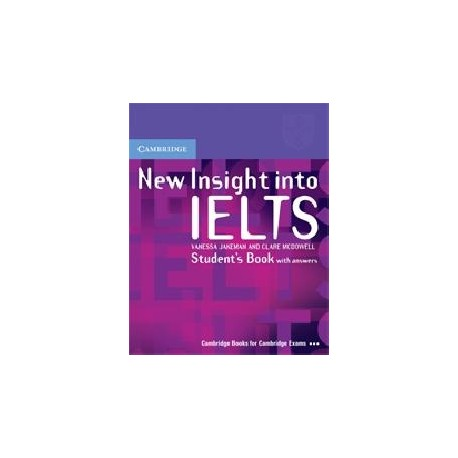 New Insights Into IELTS Student's Book with answers Cambridge University Press 9780521680899
