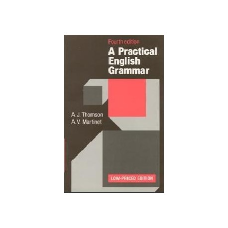 A Practical English Grammar Fourth Edition Low-Priced Edition Oxford University Press 9780194313483