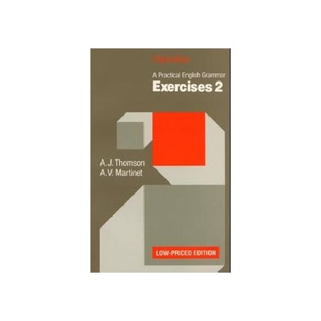 A Practical English Grammar Exercises 2 Low-Priced Edition Oxford University Press 9780194313506