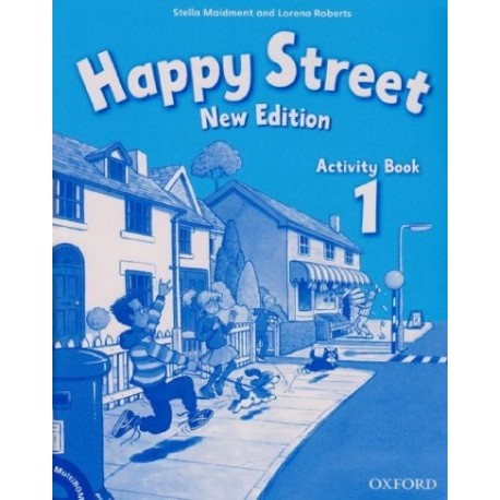 Happy Street New Edition 1 Activity Book + MultiROM Oxford University Press 9780194731096
