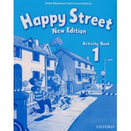 Happy Street New Edition 1 Activity Book + MultiROM