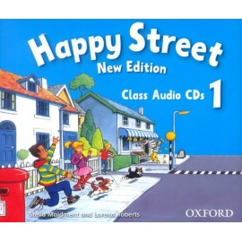 Happy Street New Edition 1 Class CDs