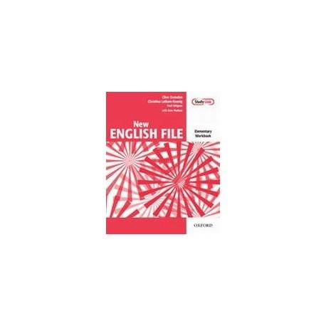 New English File Elementary Workbook - bez klíče Oxford University Press 9780194384285