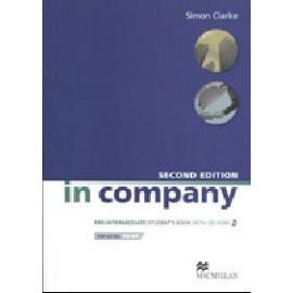In Company Pre-Intermediate Second Edition Student's Book + CD-ROM