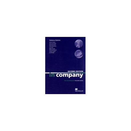 In Company Pre-Intermediate Second Edition Teacher's Book Macmillan 9780230717206