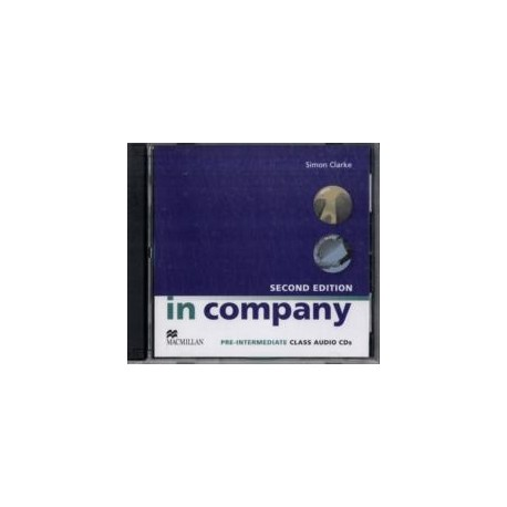 In Company Pre-Intermediate Second Edition Class CD Macmillan 9780230717213