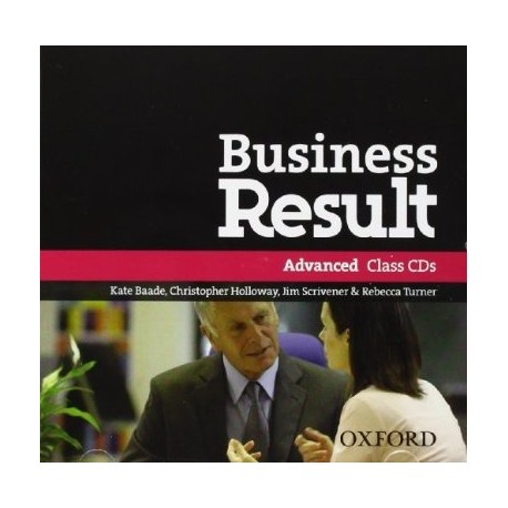 Business Result Advanced Class CDs Oxford University Press 9780194768269