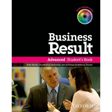 Business Result Advanced Student's Book + DVD-ROM Oxford University Press 9780194739412