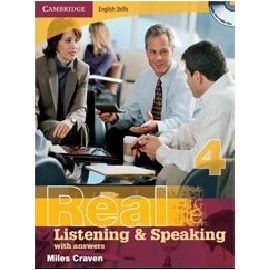 Real Listening & Speaking 4 with answers and audio CD