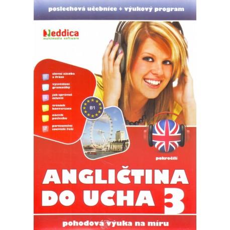 Nová Angličtina do ucha 3 Eddica 8594062451006