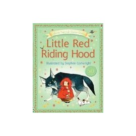 Usborne Fairytale Sticker Stories: Little Red Riding Hood
