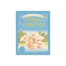 Usborne Fairytale Sticker Stories: Three Little Pigs