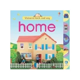 Usborne Look and Say: Home