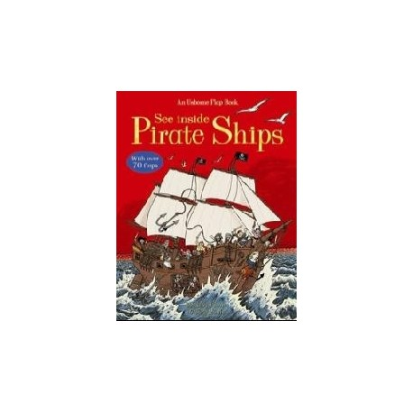 See Inside Pirate Ships Usborne 9870746070048