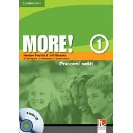 MORE! 1 Workbook (česká verze) + CD