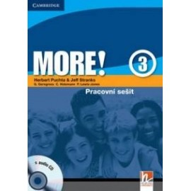 MORE! 3 Workbook (česká verze) + CD