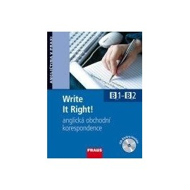 Write It Right! anglická obchodní korespondence + CD
