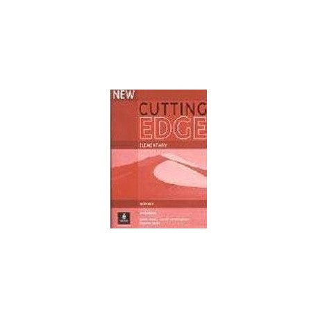 New Cutting Edge Elementary Workbook with Key Longman 9780582825031