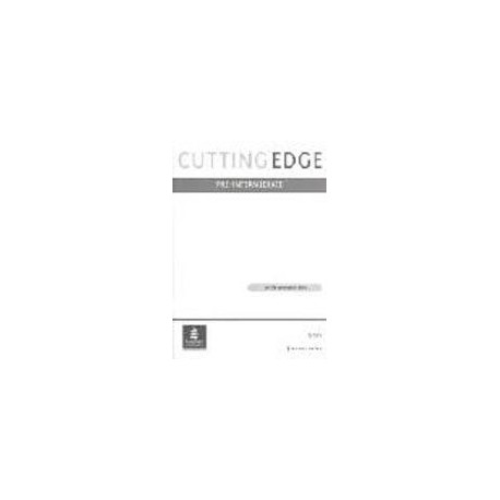Cutting Edge Pre-Intermediate (New Edition) Tests Longman 9780582344495