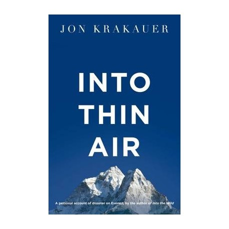 Into Thin Air Pan Books 9781447200185