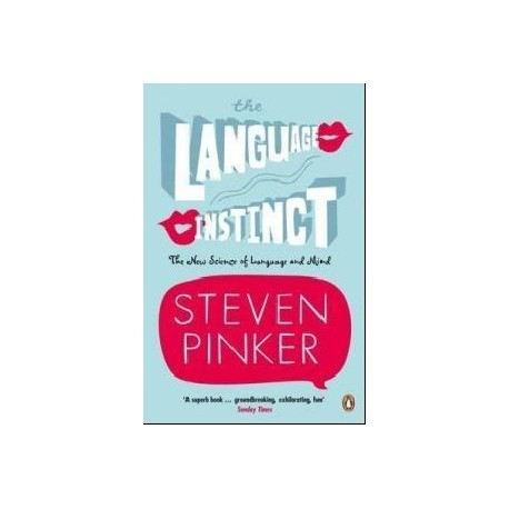 The Language Instinct Penguin books 9780140175295