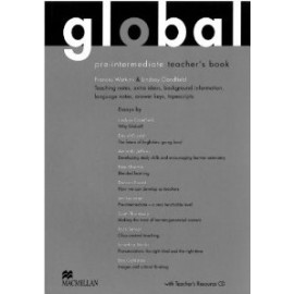 Global Pre-intermediate Teacher's Book + Resource CD Pack