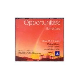 Opportunities Elementary Class Audio CDs (3)