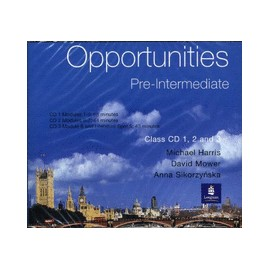 Opportunities Pre-Intermediate Class Audio CDs (3)