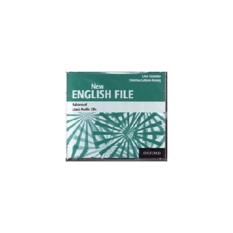 New English File Advanced Class CDs Oxford University Press 9780194594837