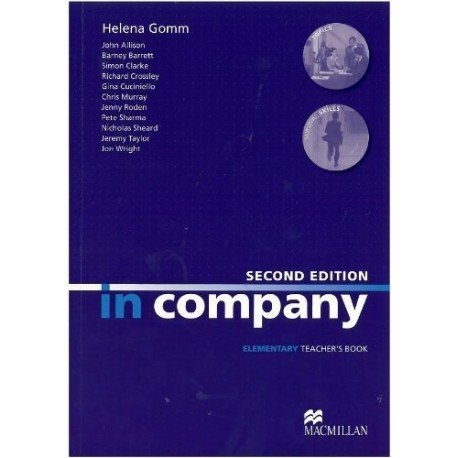 In Company Elementary Second Edition Teacher's Book Macmillan 9780230717107