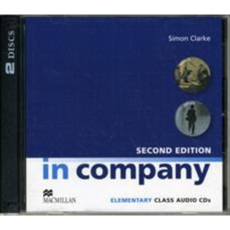 In Company Elementary Second Edition Class Audio CD Macmillan 9780230717114