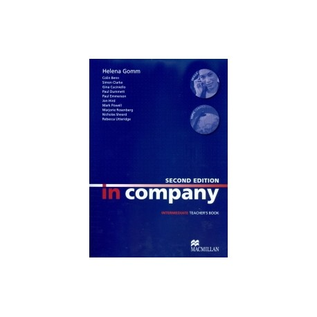 In Company Intermediate Second Edition Teacher's Book Macmillan 9780230717152
