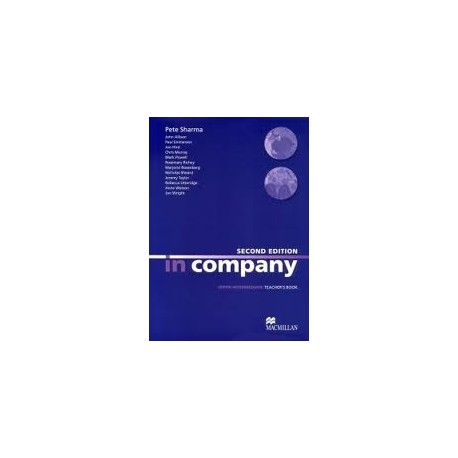 In Company Upper-Intermediate Second Edition Teacher's Book Macmillan 9780230717251