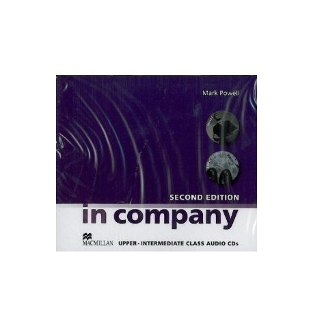 In Company Upper-Intermediate Second Edition Class Audio CD Macmillan 9780230717268