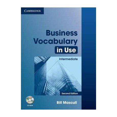 Business Vocabulary in Use Intermediate Second Edition (with answers) + CD-ROM Cambridge University Press 9780521748629