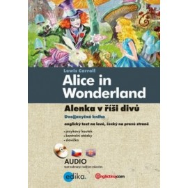 Alice in Wonderland / Alenka v říši divů + MP3 Audio CD