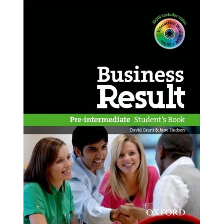 Business Result Pre-Intermediate Student's Book + DVD-ROM Oxford University Press 9780194739382