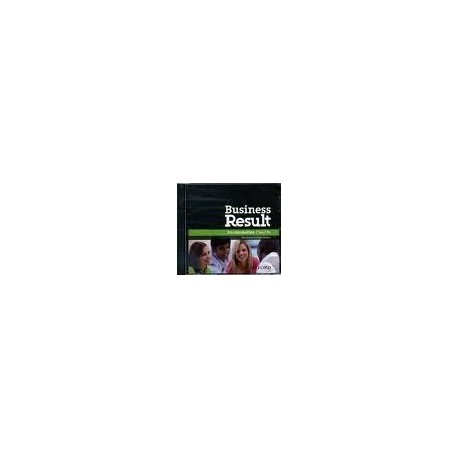 Business Result Pre-Intermediate Class CDs Oxford University Press 9780194748162
