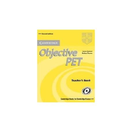 Objective PET Second Edition Teacher's Book Cambridge University Press 9780521732697