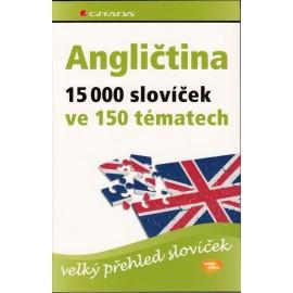 Angličtina: 15 000 slovíček ve 150 tématech